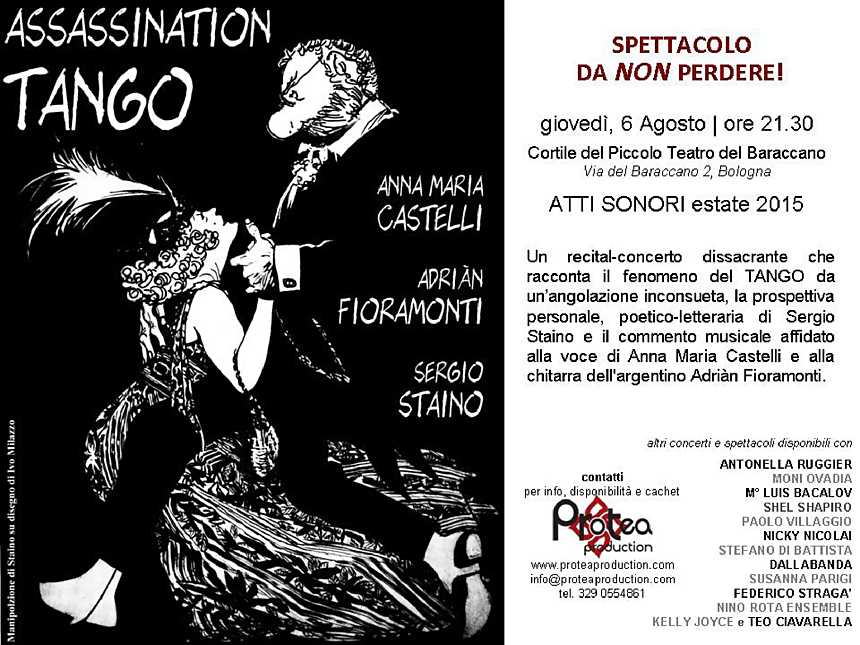 Sergio Staino e Anna Maria Castelli in Assassination Tango